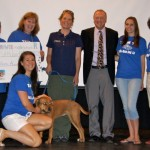 Eisenhower Middle School Raises $1,800 for St. Hubert's Animal Welfare Center