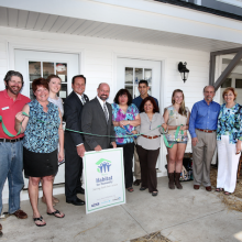 TWO FAMILIES BECOME NEW MORRIS HABITAT HOMEOWNERS