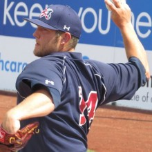 HACKETTSTOWN NATIVE CONTINUING PROFESSIONAL BASEBALL CAREER AS A RELIEF PITCHER WITH SOMERSET PATRIOTS
