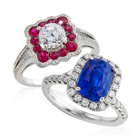 The Many Colors of Love: Engagement Rings Get a Makeover