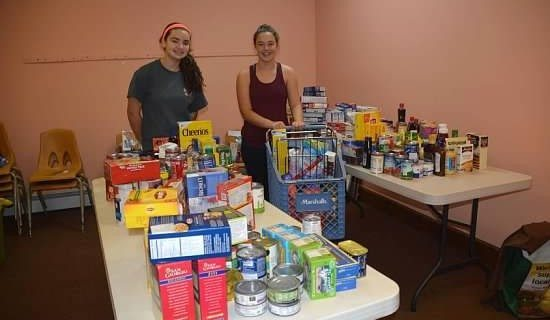 Two Freshman Girls Scout Students To Donate Food For Local Pantry