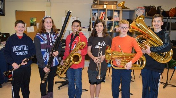 Musicians Selected To Perform With Area Band