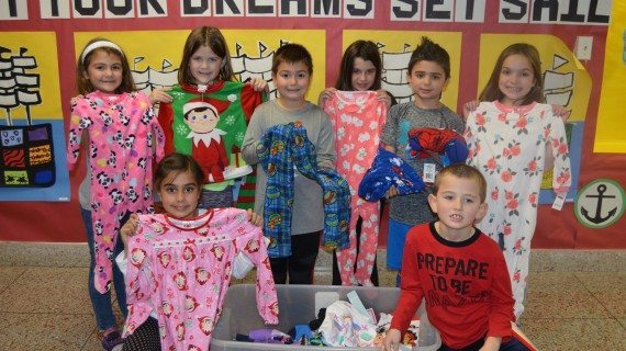 Second Graders Collect PJs For Children In Need