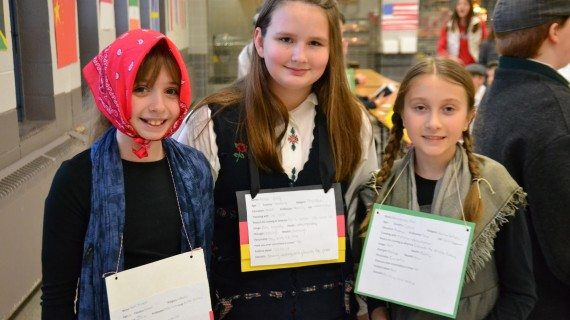 Sixth Graders Step Into Past and Recreate Immigration Days