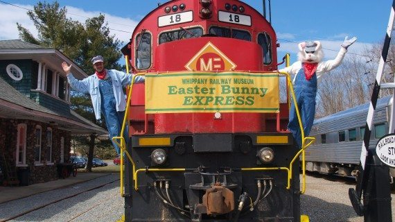 Ride The Train With The Easter Bunny