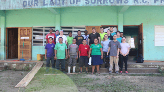 Caldwell University Students Serve In Belize