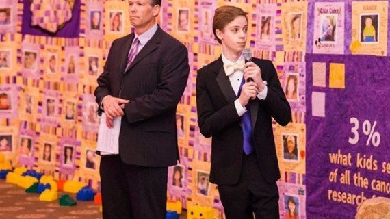 Borough Recognizes Noise By One Teen In His Fight For Pediatric Cancer Research