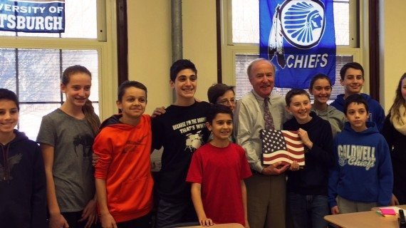 Congressman Talks Politics At Middle School