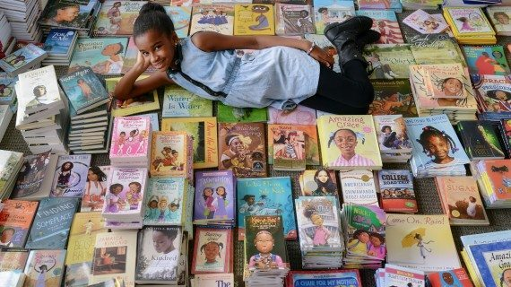 West Orange Sixth Grader Turns The Page Toward Diverse Reading Through Book Campaign