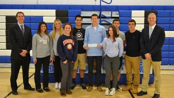 JCHS Students Send Support To Wounded Warriors