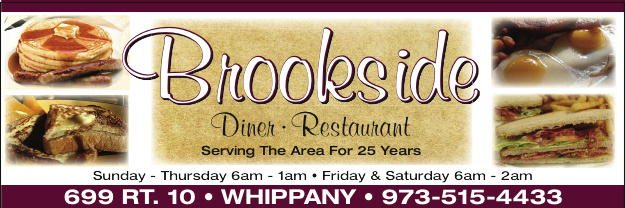 Brookside Diner header.indd