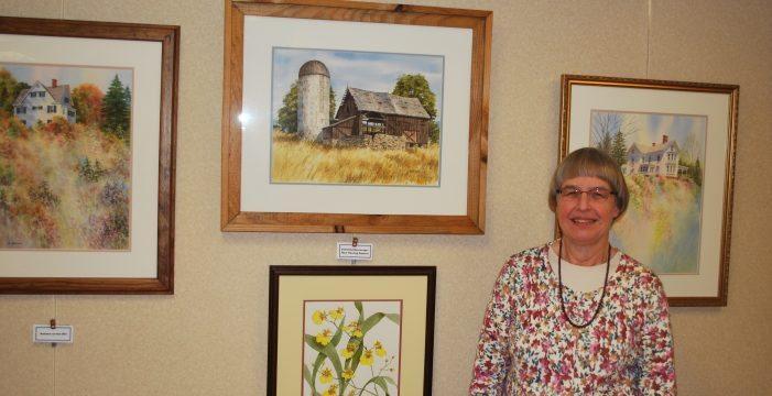 Heath Village Resident Displays Her stunning Paintings