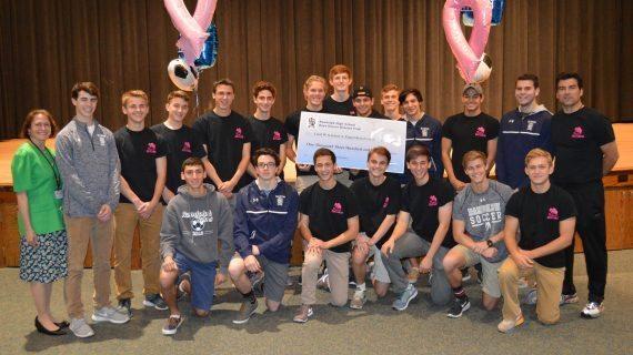 Boys' Soccer Team Helps Kick Cancer Through Ball Fundraiser