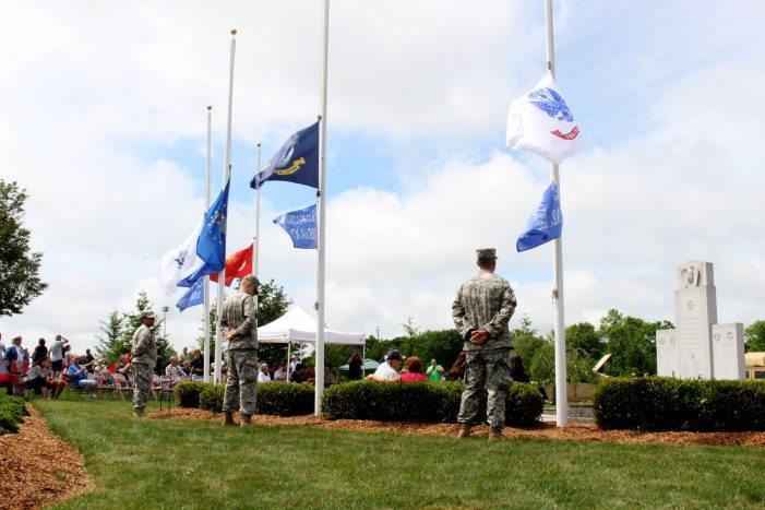 War Dog Memorial Dedicated At Memorial Day Remembrance Ceremony | My ...