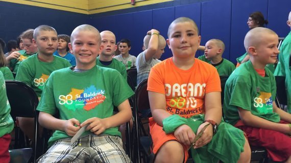 Roxbury's St. Baldrick's Event at Lincoln/Roosevelt