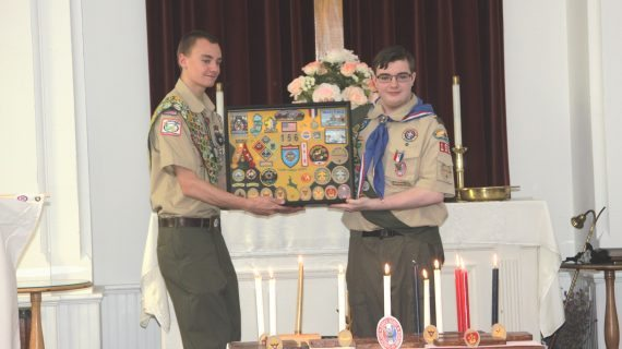 Eagle Scouts Builds Horseshoe Pits