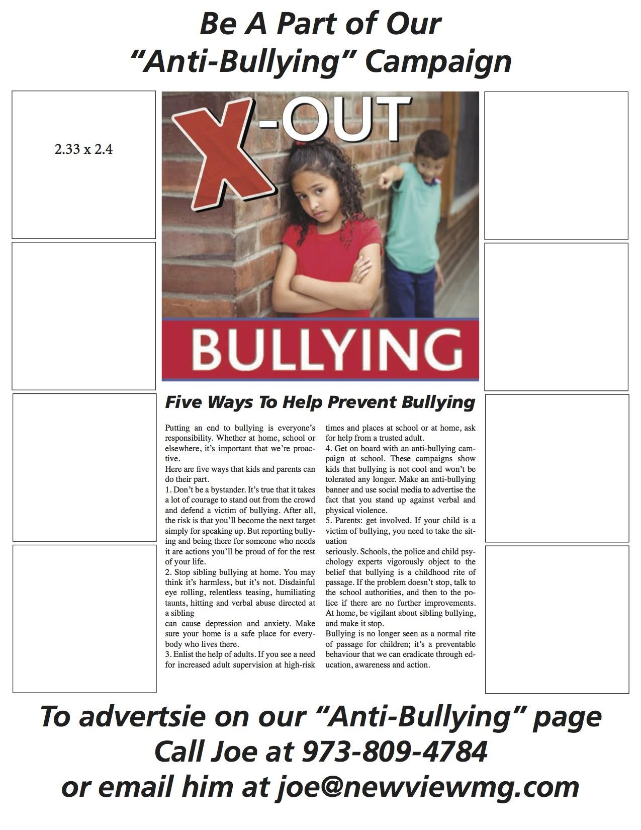 Bullying flier – joe