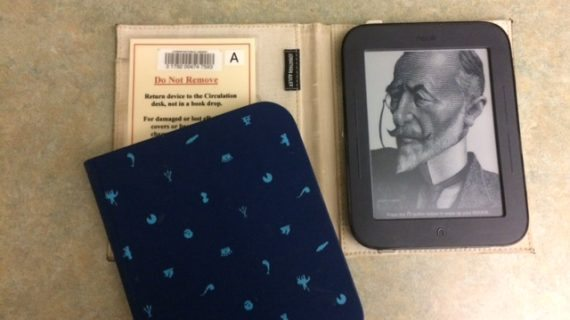 Get Hooked On The Nook At Livingston Library