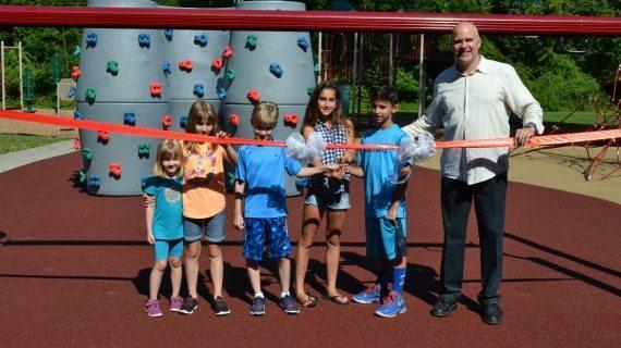 Wilson School Unveils New Playground
