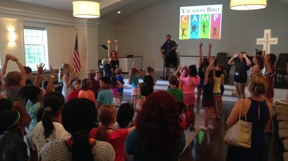 Community Congregational Church Offers Vacation Bible Camp