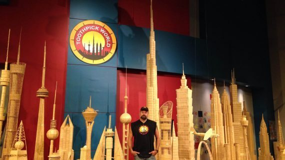 Toothpick World Visits Morris County