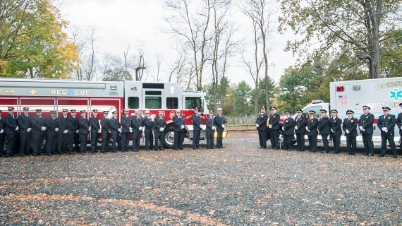First Aid Squad And Fire Company Celebrate Dedication Of New Apparatus