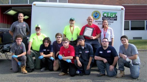 Mcts Students Tackle Washington Twp. OEM Emergency Disaster Trailer Project