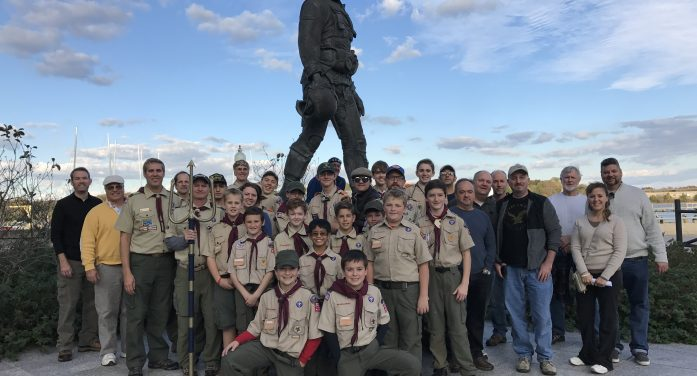 Long Valley Boy Scout Troop 236 Visits Annapolis Maryland Navy Academy
