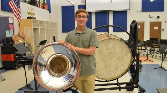 RHS Tuba Player Selected To Perform In Parade