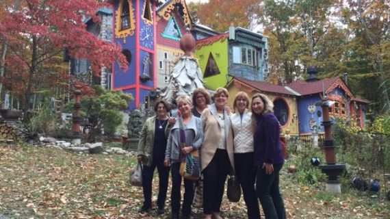 Morristown Group Tours Artist's Home