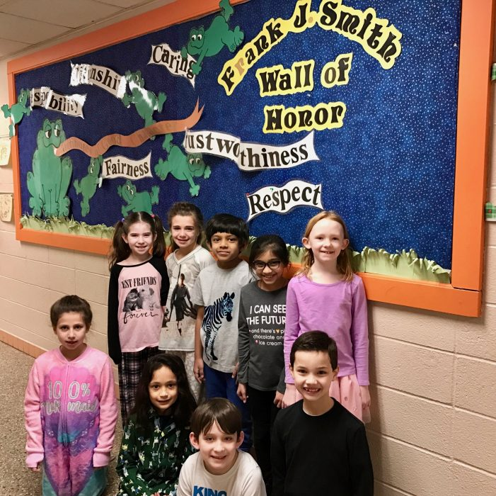 Frank J. Smith School Receives 2017 NJ School Of Character Award