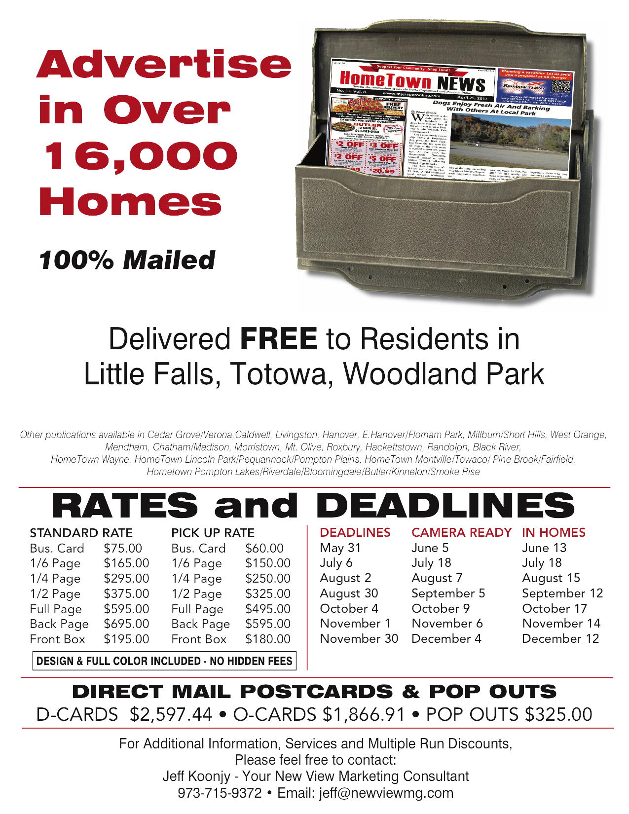 Advertise in Over – Little falls
