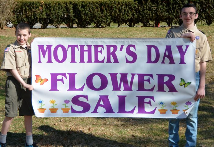 West Caldwell Boy Scouts Host Mother's Day Plant Sale