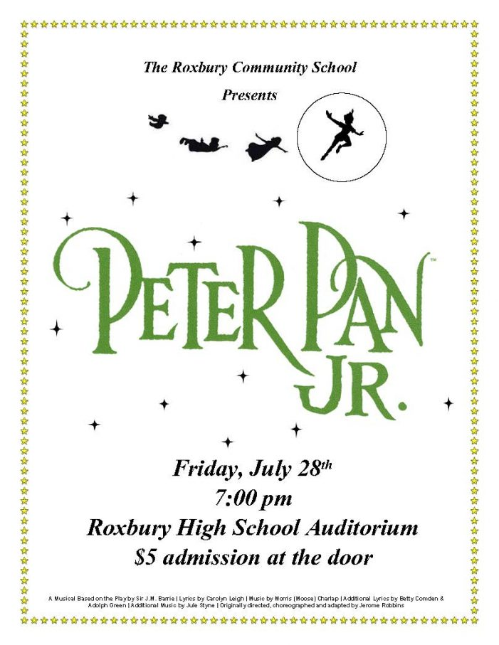 Roxbury Students Perform Peter Pan Jr.