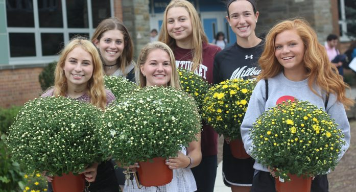 Mums For Millburn Seniors