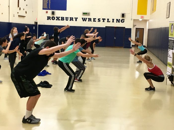 Roxbury Students Enjoy New Yoga Program
