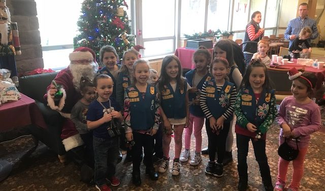Scouts, Seniors, Smiles And Santa