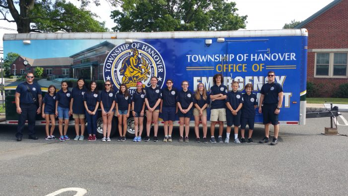 NJ Association Confers Excellence Award To Hanover's Youth Public Safety Academy