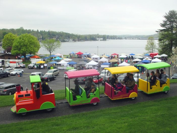 Hopatcong Block Party Warms Spirits On Cold, Rainy Day