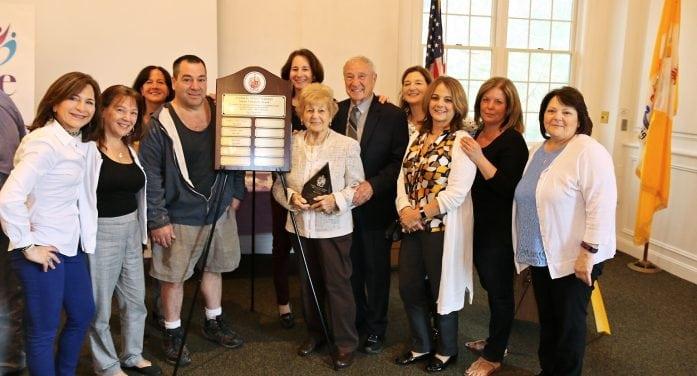 Senior Volunteer Award Presented To 89-Year Old East Hanover Woman