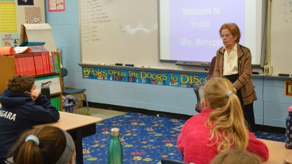 A First-Hand Holocaust Account For Randolph Fifth Graders