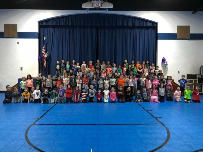 Kindergarteners Celebrate Pride, Accomplishments