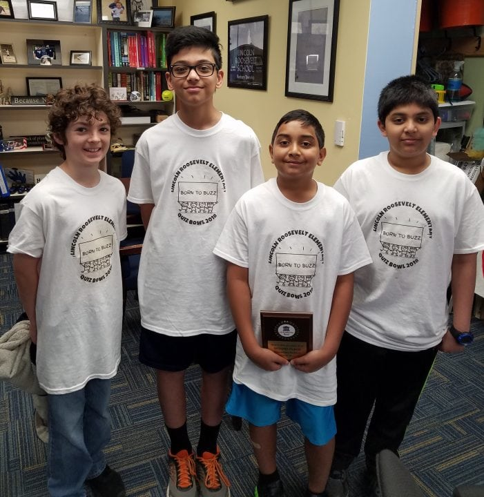 Sixth Graders Place Second In National Academic Bowl