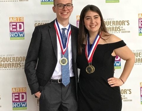 Chatham High Pair Honored With Governor's Award