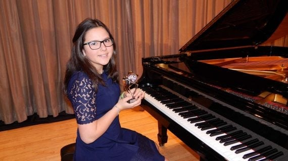 Pianist Wins Awards