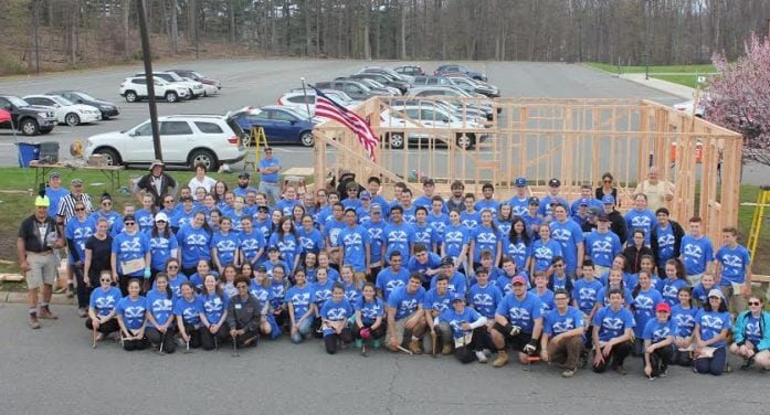 Caldwell Students Help Build Houses, Raised Thousands For Habitat For Humanity