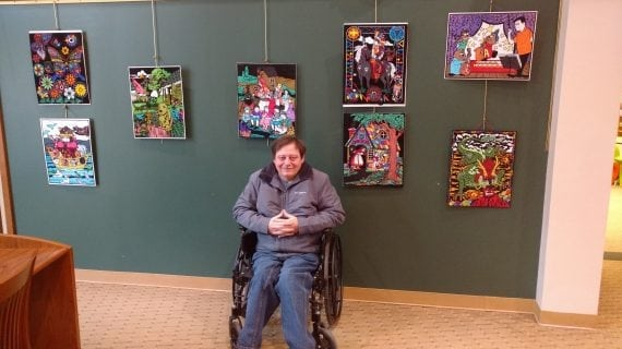 Chester Senior Finds His Niche With Fuzzy Art