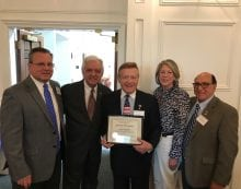 Hanover Township's George Coppola Honored By Morris County
