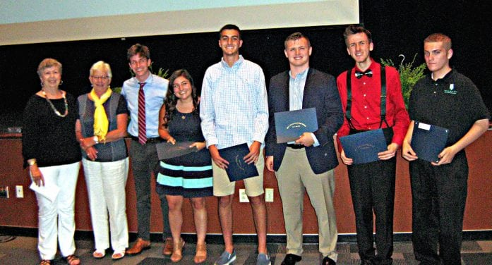 Long Valley Woman's Club Presents Scholarships