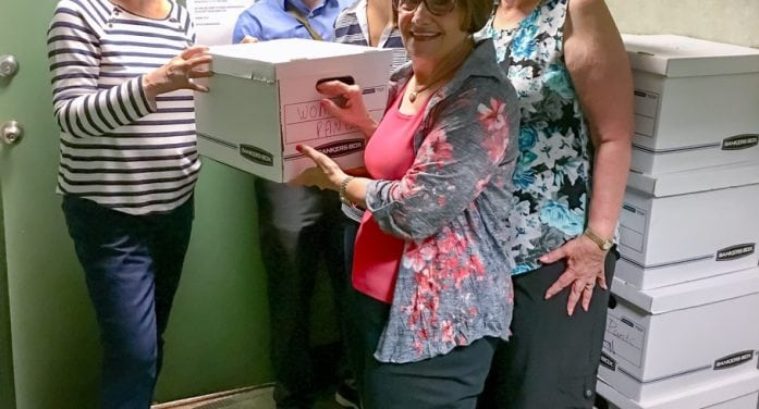 NCJW/Essex Center For Women Receives Boxes Of New Clothing